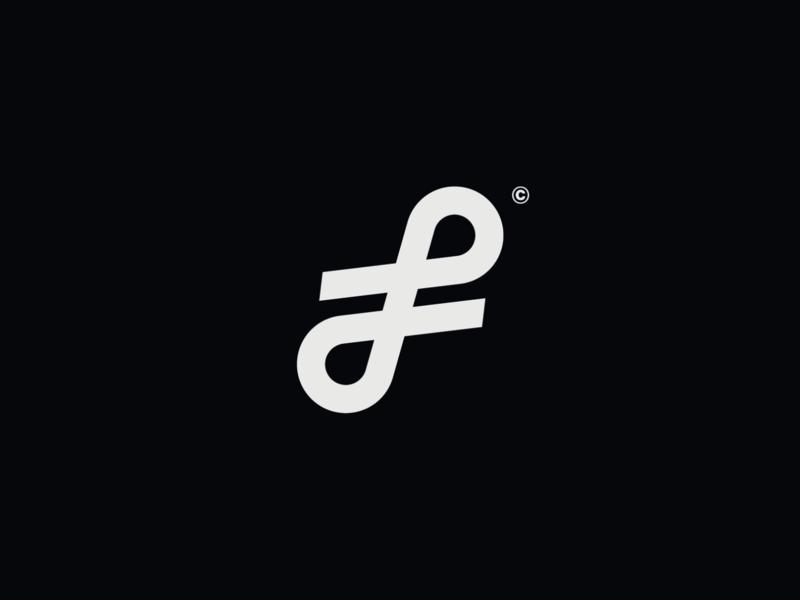 WW006 - Letter F Logo startup logo tech logo logo designer lettering logo design brand identity icon symbol logotype branding logo letter form letter f logo letter f