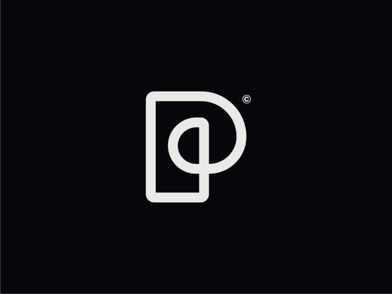 WW016 - Letter P Logo tech logo startup logo lettering logo designer minimal logo design identity logos logotype brand identity logo p letter p logo letter p