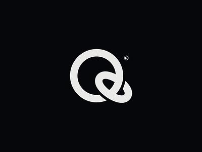 WW017 - Letter Q Logo tech logo startup logo symbol logo designer minimal logo design lettering brand identity logotype branding logo q letter q logo letter q