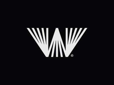 WW023 - Letter W Logo typography logo designer lettering symbol logo design brand identity branding logotype logo w letter w logo letter w