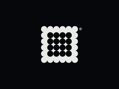 WW029 - Square Circle Logo 3 logo designer logo design symbol brand identity branding logotype logo square logo square logo design abstract logo design circle logo design circle logo circle