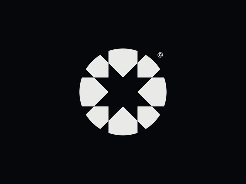 WW030 - Circle Logo 4 icon logo design symbol brand identity branding logotype logo construction logo tech logo startup logo abstract circle circle logo design abstract logo circle logo