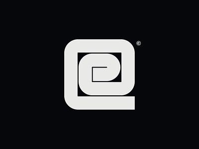 WW032 - Square E Letter Logo 1 lettering branding logo designer logo design brand identity logotype logo abstract logo square logo letter logo design letter logos letter logo square e