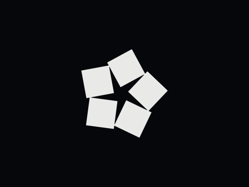 WW036 - Square Abstract Logo 5 logo designer icon logo design symbol brand identity branding logotype logo startup logo tech logo shape logo abstract logo square logo
