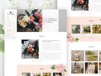 Flowers - Web Design