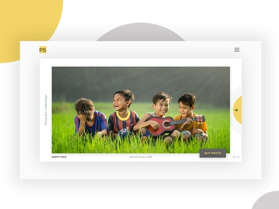 Photo Studio Website Design (Experiment / 2) webdesign 2020 ux design stockholm uxdesign photography website