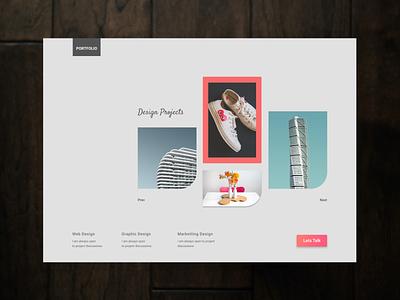 Modern Portfolio nordic design wahidsadiq stockholm uxdesign ui web design ux