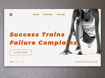 Fittness Freak Ux Dribble photoshop ux design fittness webdesign graphic design gym design web design ux ui
