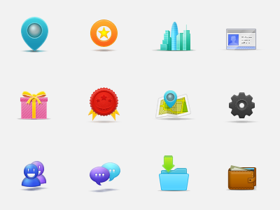 learninghunt icon set