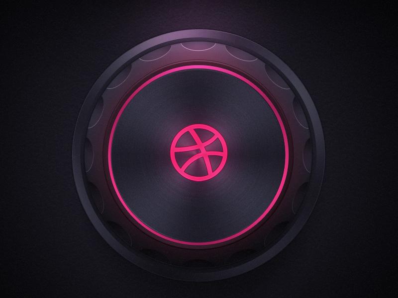 Freebie PSD: Dark UI Music kit free psd ui music kit interface freebie download circle