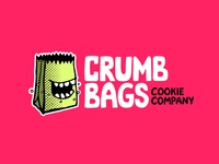 Crumb Bags Cookie Company Identity