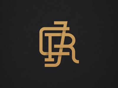 RJC gold reno court justice type branding identity monogram