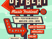 Off Beat Music Festival Poster