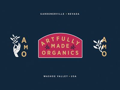 Natural Health & Beauty Products Identity packaging plants logo identity washoe nevada reno brooklyn nyc organic artful beauty health natural