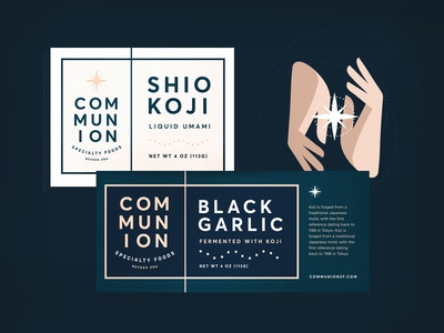 Communion Specialty Foods Packaging