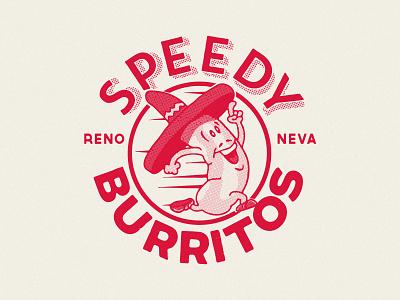 Speedy Burritos badge restaurant food mexican nevada reno speedy burrito