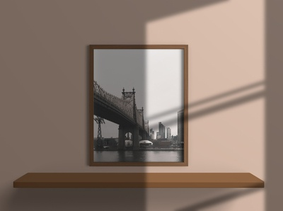 16x20 Inches Photo Frames Mockup