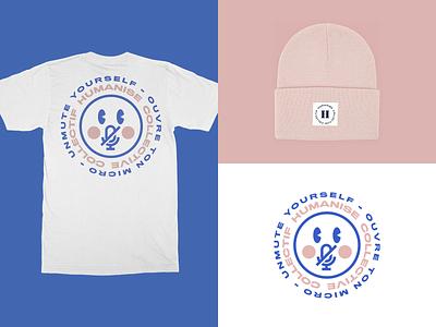 Humanise Merch beanie merch design agency tshirt