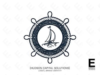 Hudson Capital Solutions Logo Design