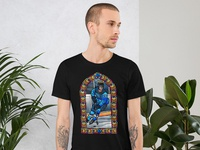 Church of Kakko Stained Glass Tee