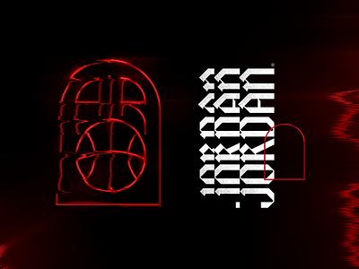 Air Jordan - Concept air jordan michael jordan typography visual identy design branding logo