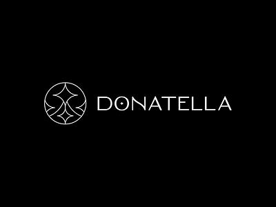 Donatella typo illustration type illustrator photoshop design art direction visual identy branding logo