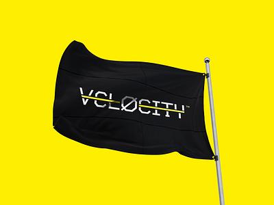 Velocity typo illustration type illustrator photoshop design art direction visual identy branding logo