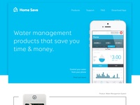 Smart Home Product Homepage