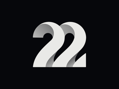 Twenty-two 22 twenty-two 22 illustration icon app design logo branding illustrations