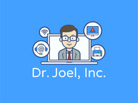 IT professional avatar Illustration