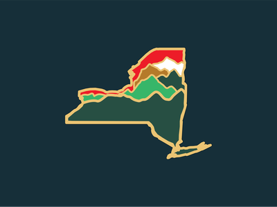 Adirondacks of New York Enamel Pin pin design mountains new york adirondack adirondacks enamel pin pin enamel