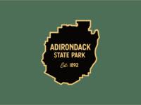 Adirondack State Park Enamel Pin