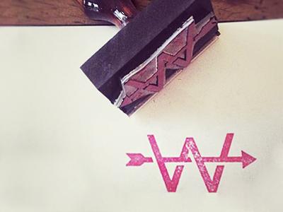 >-W-> idlewild branding w logo mark icon arrow travel identity