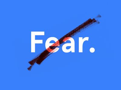 Nothing to Fear apercu dva bfa typography senior-show exhibit