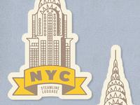 Steamline Luggage Stickers (4)
