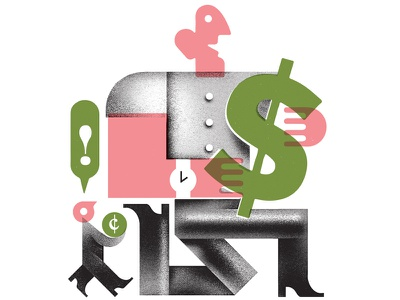 Monocle 80! illustration characters people money finance inequality economics economy spot-illustration publication monocle