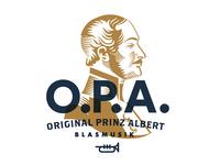 Original Prince Albert - Logo