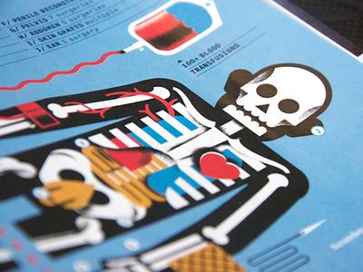 Men's Health - Full Project magzine mens-health science cardio medical skull bones blood heart anatomy skeleton