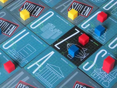 LUCI Award Winner! liberty-bell easter-island game-tiles tiles graphic-design icons illustration game-design