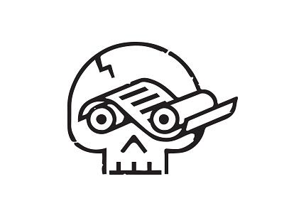 Guile Guild Press printing-press printing print skull branding logo