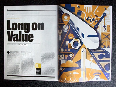 Institutional Investor [Full Project] grain health plane train editorial-illustration magazine institutional-investor illustration