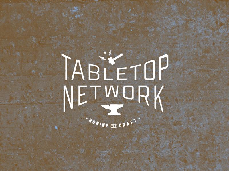 Clank Clank! tabletop-gaming gaming industrial hammer typography anvil branding logo
