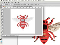 Working on Bee Icon