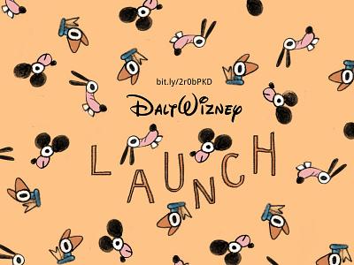 Dalt Wizney Zine mystic grandpa collaboration collab draw drawing goofy donald duck mickeymouse mickey funny weird disney illustration zine