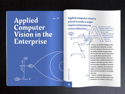 Computer Vision book print design graphic  design typography layout ediotorial design computer vision