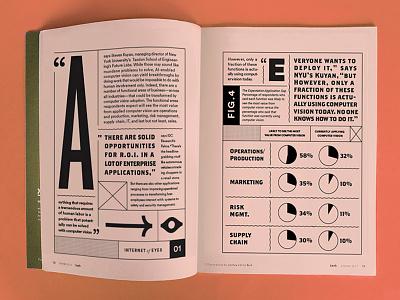 Computer Vision (2) magazine editorial design layoutdesign layout graphic design typography
