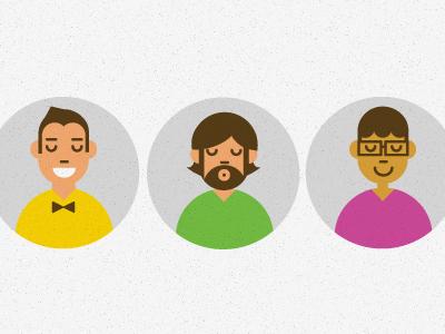the Team team portraits bow-tie v-neck geometric tinyhouse