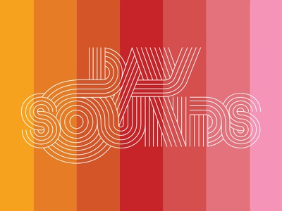 Day Sounds [LAUNCH!] music logo logo graphic design animaiton psychedelia music rock and roll psychrock psychedelic