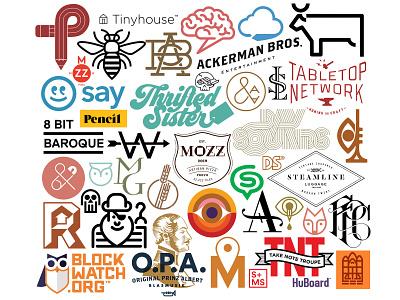 Logos! identity graphic design logomark mark branding logos logo