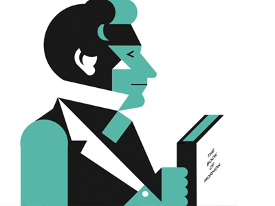 Joseph Smith - Mormon Prophet illustration geometric vector history mormon mormons book-of-mormon joseph joseph-smith prophet ldd